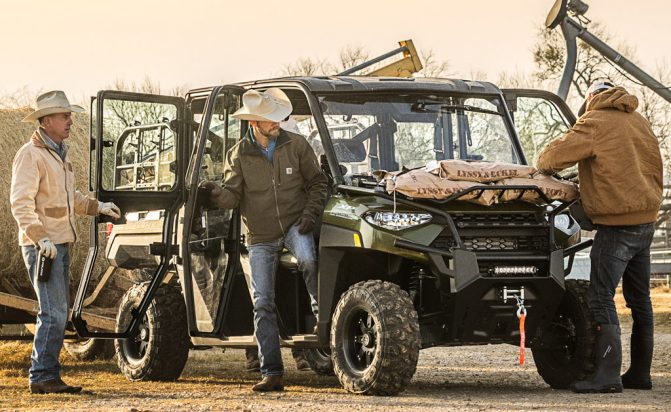 Polaris Ranger Crew XP 1000 Working