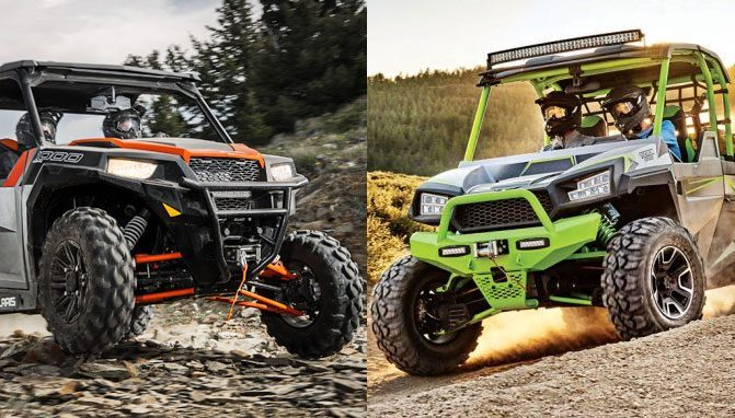 Textron Off Road Havoc X and Polaris General