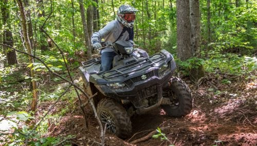 2019 Suzuki KingQuad 750 AXi Review + Video