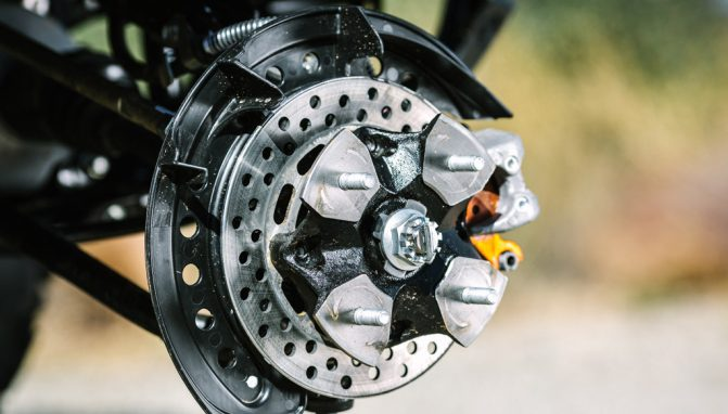 2019 Suzuki KingQuad Brake