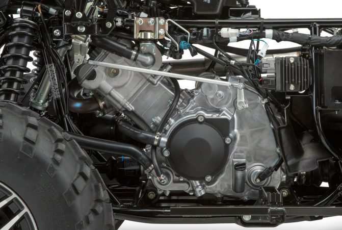 2019 Suzuki KingQuad Engine