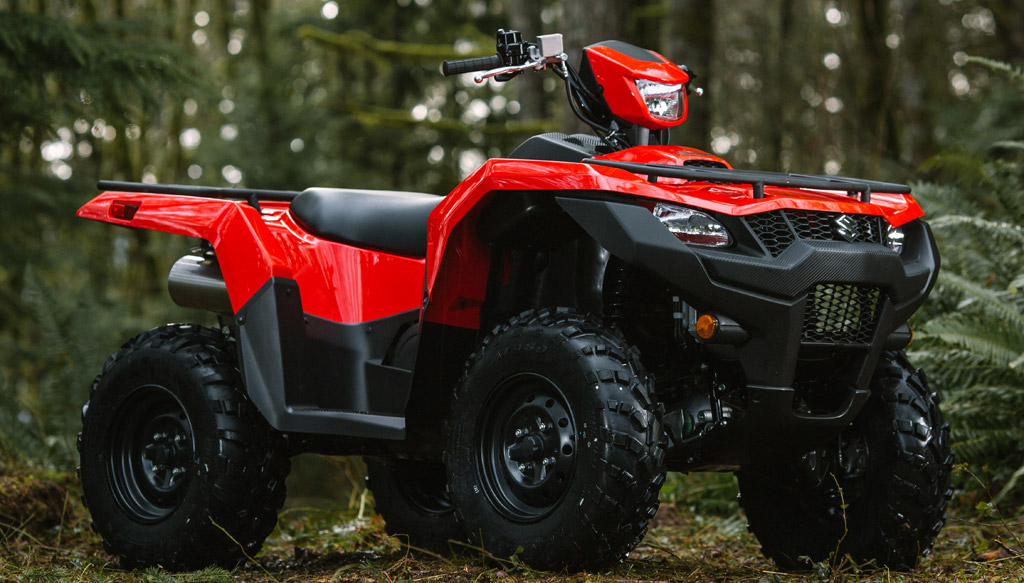 2019 suzuki kingquad lineup preview
