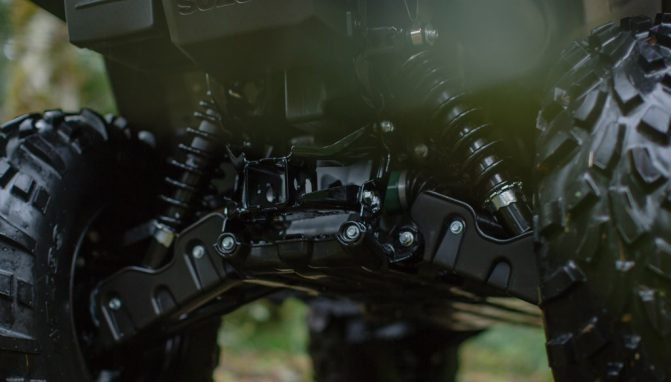 2019 Suzuki KingQuad Rear Suspension