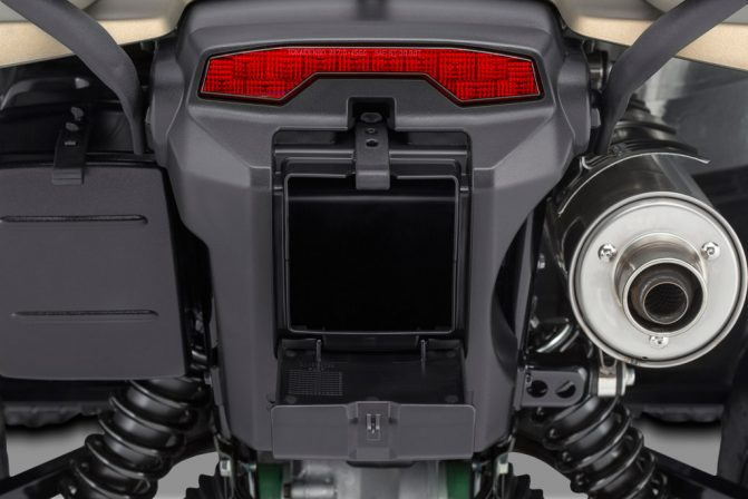2019 Suzuki KingQuad Storage