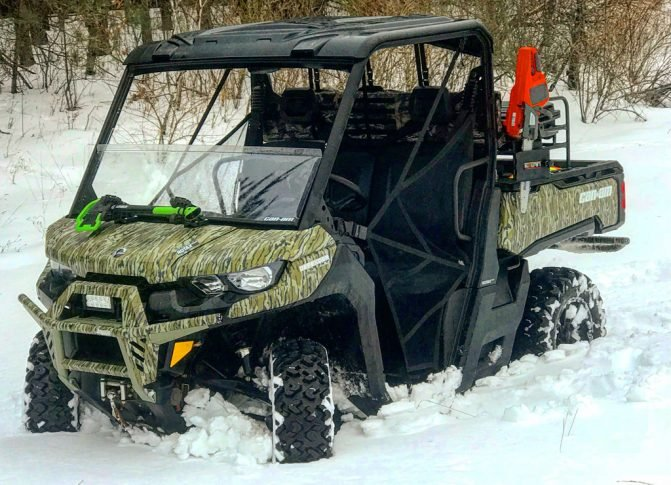 Can-Am Defender Mossy Oak Wrap