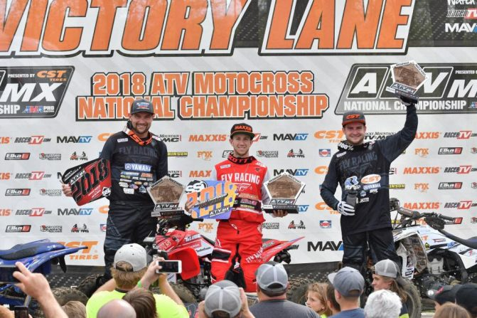Ironman MX Podium