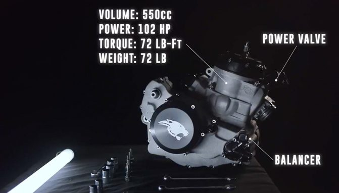 Who Wants a 102 Horsepower 500cc Two-Stroke Kit Engine +