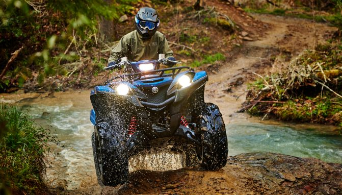 2019 Yamaha Grizzly EPS SE Front