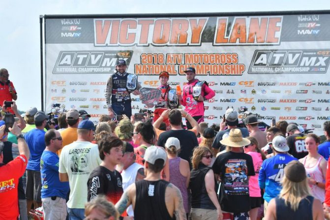 ATVMX Pro Podium Sunset Ridge