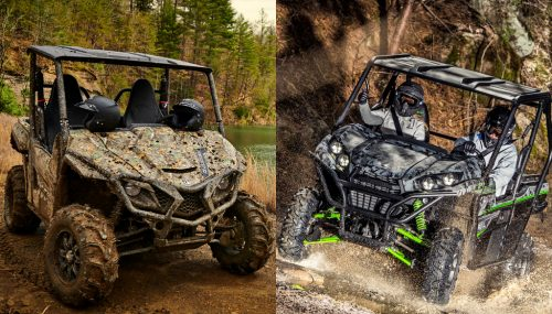 2019 Yamaha Wolverine X2 R-Spec SE vs. Kawasaki Teryx LE: By the Numbers