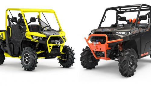 2019 Polaris Ranger XP 1000 EPS High Lifter Edition vs. Can-Am Defender X MR: By the Numbers