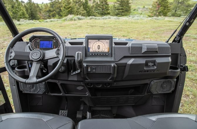 Polaris Ranger with Ride Command