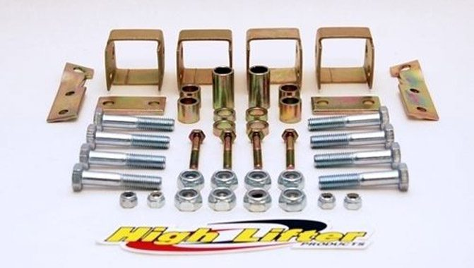 High Lifter Lift Kit Yamaha Grizzly 660
