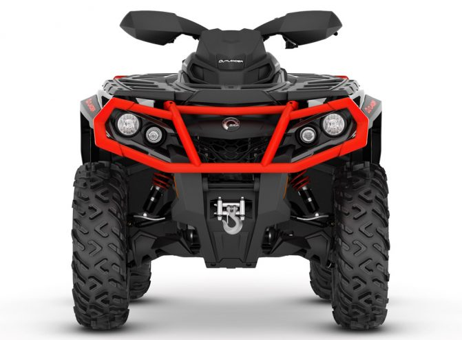 2019 Can-Am Outlander 1000R XT Front