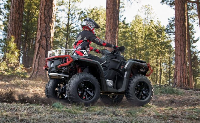 2019 Can-Am Outlander 1000R XT Trail