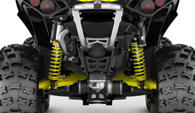 2019 Can-Am Renegade TTI Rear Suspension