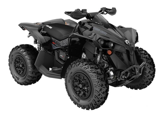 2019 Can-Am Renegade X xc 1000R Triple Black