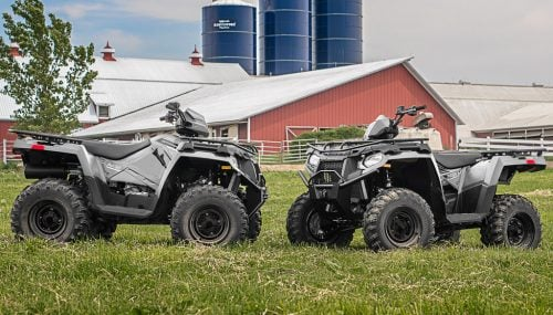 Polaris Four Wheelers Lineup Has Something for Every Budget