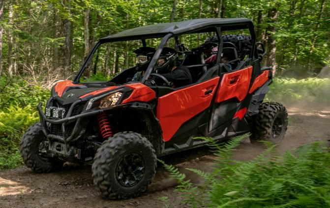 2019 Can-Am Maverick Sport MAX DPS Profile