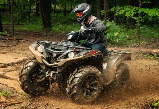 2019 Yamaha Grizzly SE Tactical Black