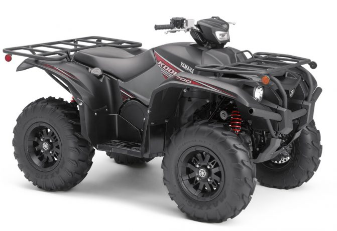 2019 Yamaha Kodiak 700 SE Tactical Black