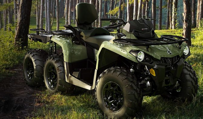 Can-Am Outlander MAX 6x6 450 Exterior