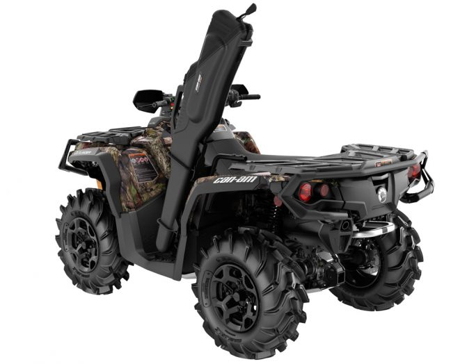 Can-Am Outlander Mossy Oak Hunting Edition Rear