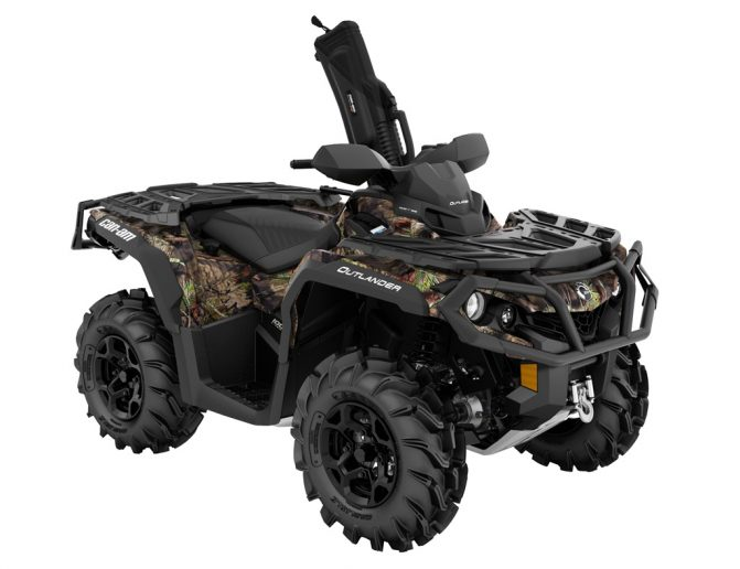 Can-Am Outlander Mossy Oak Hunting Edition Front