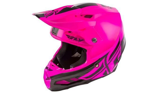 Fly Racing Carbon F2 Shield MIPS: Women's ATV Helmets