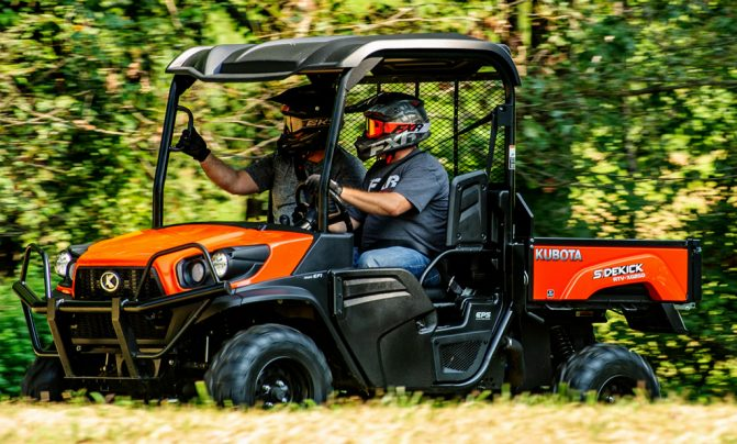 Kubota RV-XG850 Sidekick Front Left