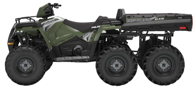 Polaris Sportsman 6x6 570 Profile