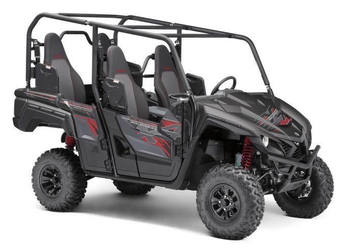 2019 Yamaha Wolverine X4 SE Tactical Black