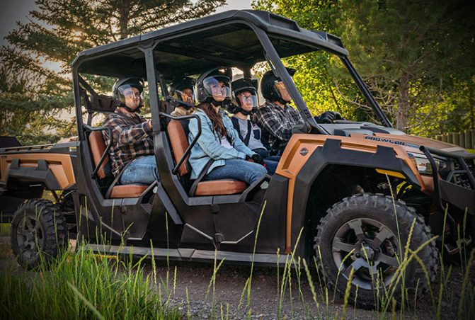 2019 Textron Prowler Pro Crew-Ranch Edition Action