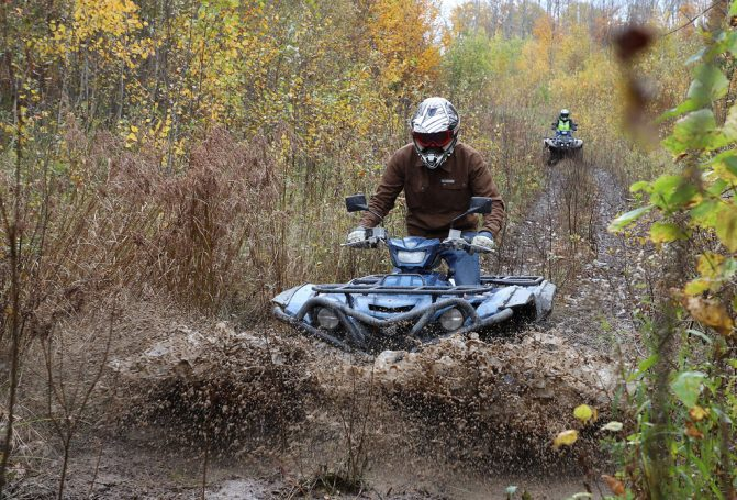 Yamaha Grizzly SE Water