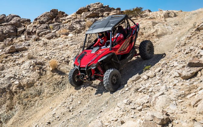 2019 Honda Talon 1000R Down Hill
