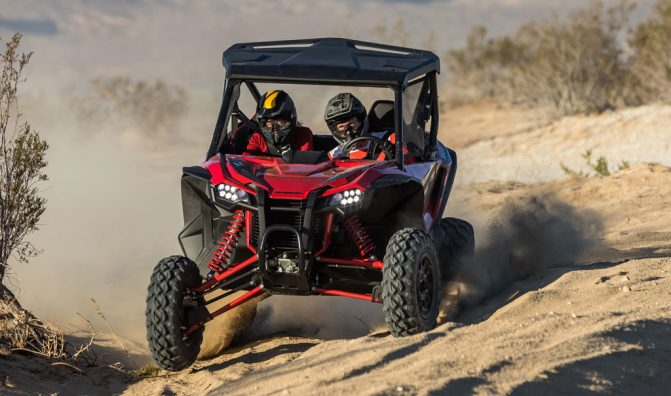 2019 Honda Talon 1000R Action