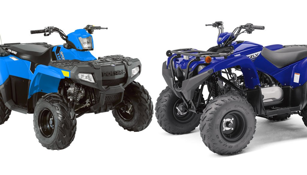 Polaris General 1000 >> 2019 Yamaha Grizzly 90 vs. Polaris Sportsman 110: By the ...