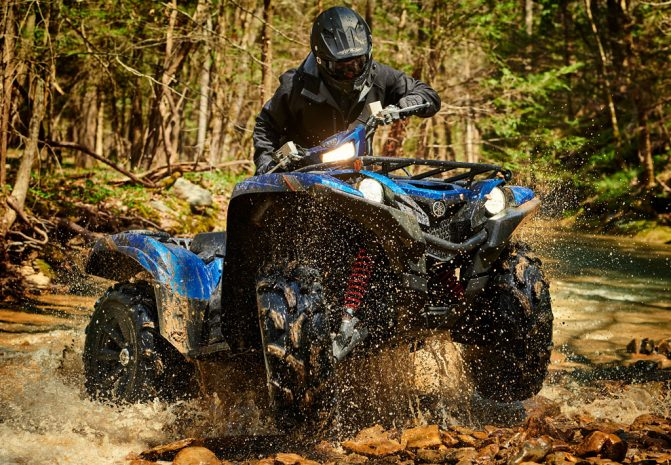 Yamaha Grizzly SE Action