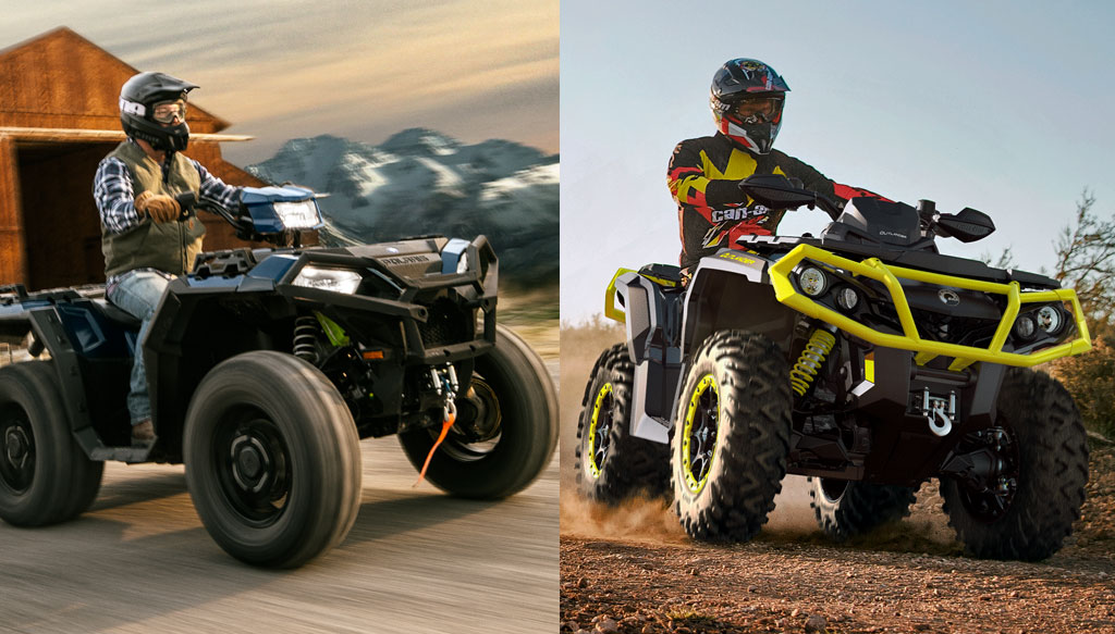 2019 Polaris Sportsman Xp 1000 Premium Vs Can Am Outlander Xt P 1000r By The Numbers Atv