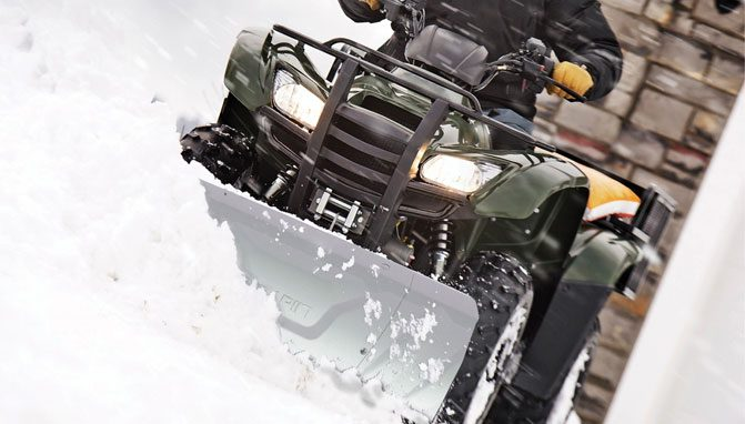 5 of the Best ATV Snow Plow Options This Winter