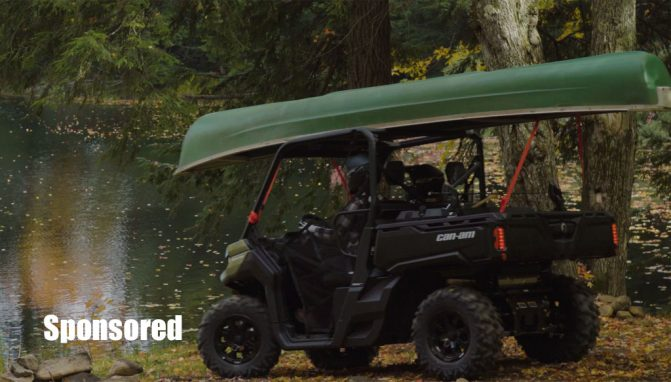 How the Can-Am Defender Makes Your Fishing Trip Better +