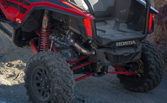 2019 Honda Talon 1000R Rear Suspension