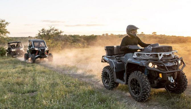 Can-Am ATVs UTVs
