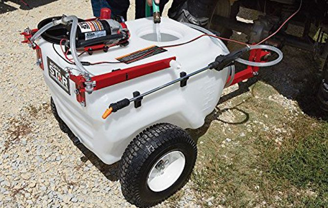 NorthStar Tow-Behind Boom Broadcast and Spot Sprayer