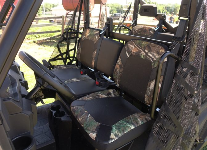 2019 Polaris Ranger Crew XP 1000 Front Seats
