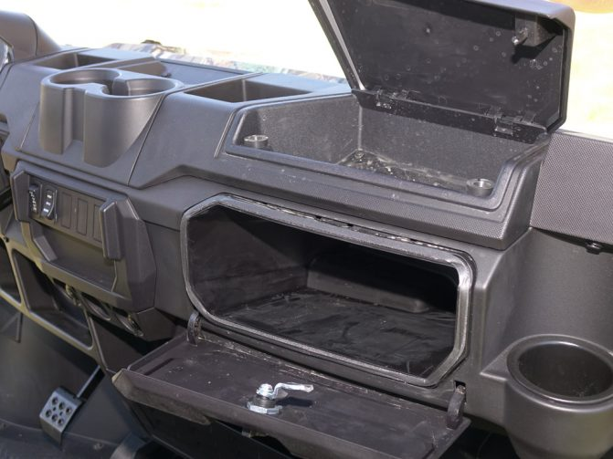 2019 Polaris Ranger Crew XP 1000 Glove Box