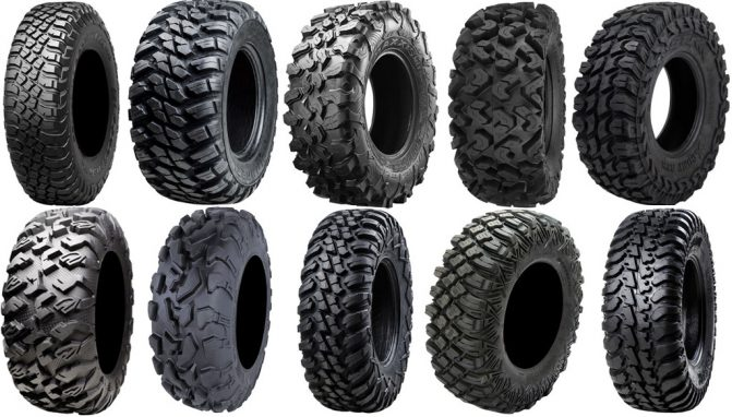 Ten of the Best All-Terrain UTV Tires
