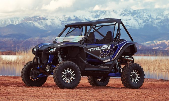 2019 Honda Talon 1000X Beauty