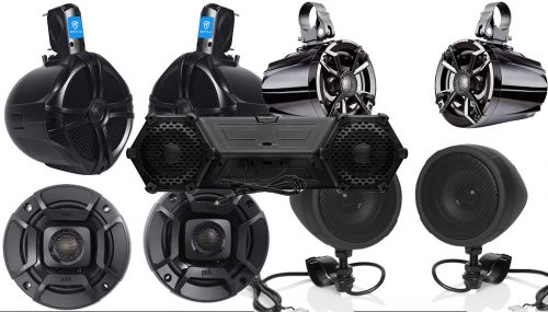 Five Best ATV Speakers