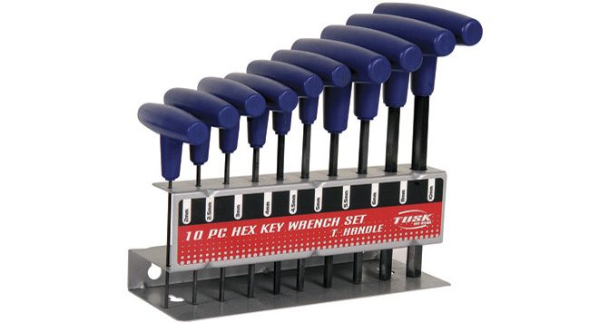 T-Handle Hex Key Wrench Set